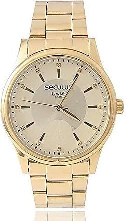 Seculus Kit Relógio Feminino Seculus + Colar E Pingente Nossa Senhora Aparecida 28654lpsvda1k1