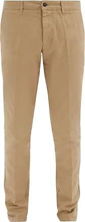 Ami Ami - Slim-fit Cotton Chino Trousers - Mens - Beige