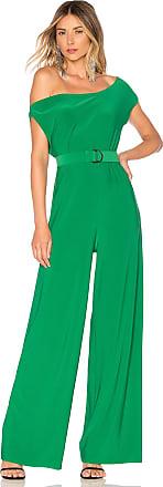 Norma Kamali X REVOLVE Drop Shoulder Jumpsuit in Green