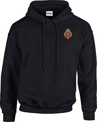 Military Online Welsh Guards - British Army Embroidered Hoodie Black