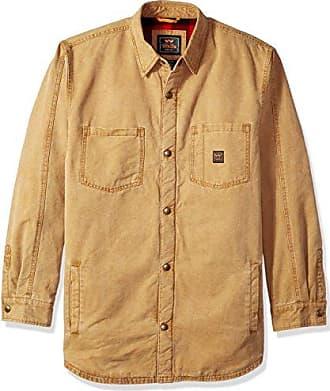 fceae26da Walls Mens Bandera Vintage Duck Shirt Jacket Big-Tall, Pecan, L TL