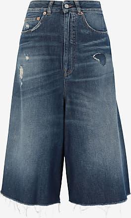 Maison Margiela Destroyed Denim Shorts
