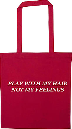Flox Creative Red Tote Bag Play With my Hair Not my Feelings T-Shirt
