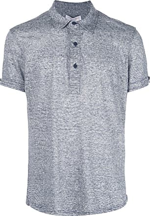 Orlebar Brown melange polo shirt - Cinza