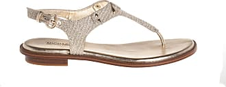 Michael Kors infradito in tessuto glitter, 36.5 / oro