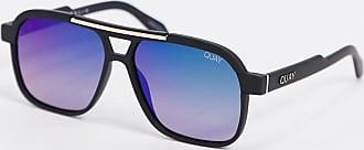 Quay Nemesis aviator sunglasses in black
