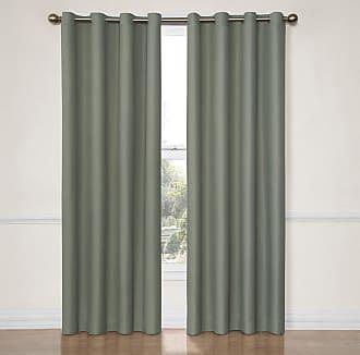 Eclipse Dane Grommet Blackout Window Curtain Panel River Blue - 12972052063RVB