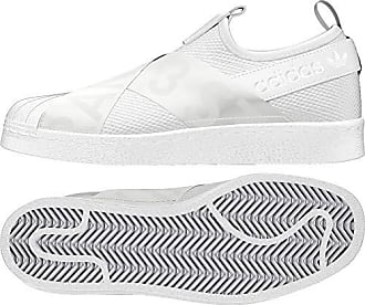 more photos 49117 889c2 adidas Damen Superstar Slip-On Fitnessschuhe Weiß FtwblaNegbas 000, 38 EU