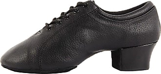 Find Nice Mens Fashionable Modern Classic Rumba Closed Toe Ballroom Standard Dance Shoes Black 8.5 UK