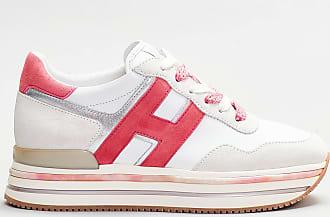 Hogan sneakers dettaglio fragola- bianco