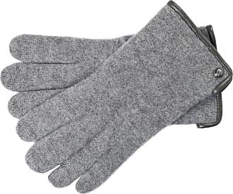 Roeckl Walkhandschuh Lederinnenhand schwarz