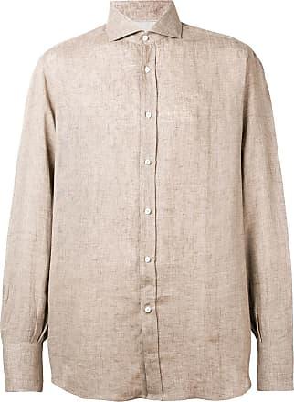 Brunello Cucinelli Camisa com colarinho pontiagudo - Neutro