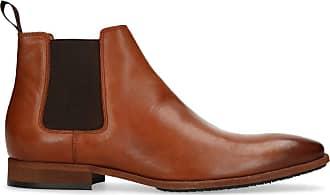 Chelsea Boots von Cox in braun mittel für Herren. Gr. 40,41,42,43,44,45,46