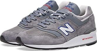 New Balance M997CNR - Hergestellt in den USA in grauen, blauen und roten Schuhen - 40 1/2