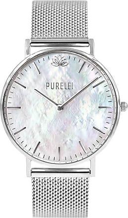 Purelei Pearl Silver Mesh Uhr