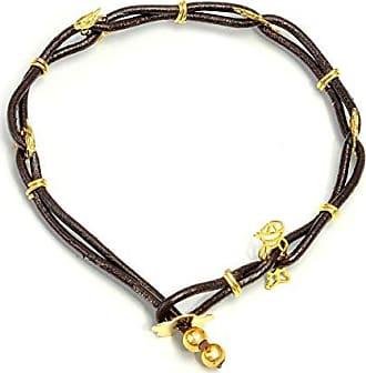 Tinna Jewelry Pulseira Trançada Dourada Menino