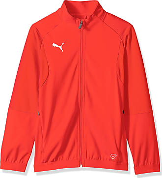 puma red and white jacket