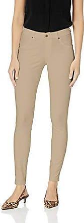 Hue Womens Original Denim Ripped Knee Leggings Large Pink