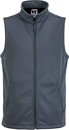 Russell Athletic Russell Mens Smart Softshell Workwear Gilet Convoy Grey M