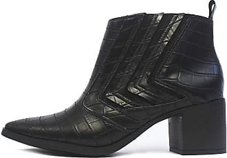 Damannu Shoes Bota Jennifer - Cor: Preto - Tamanho: 39