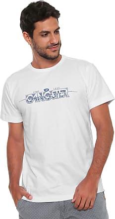 Gangster Camiseta Gangster Estampada Branca
