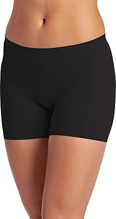 Jockey Skimmies Short Length Slipshort 3 Pack-Black-XX-Large-Short-UK 16