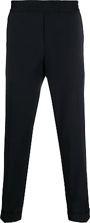 Filippa K Calça slim cropped Terry - Preto