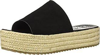 0a5cc7c26bf5 Coolway Womens BORY Espadrille Wedge Sandal Black 41 Medium EU (10-10.5 US)