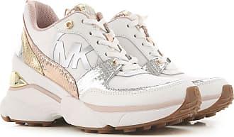 Michael Kors Sneaker für Damen, Tennisschuh, Turnschuh Günstig im Sale, Weiss, Leder, 2019, 35 36 37 38.5 39 39 40