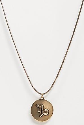 7X SVNX Capricorn horoscope necklace-Gold