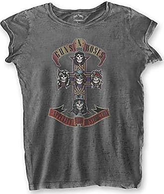 Motorhead T Shirt England Seal offiziell damen Nue Grau Acid Wash Skinny Fit