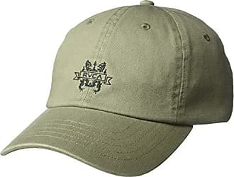 Rvca Mens Crest Cap, sage, ONE Size