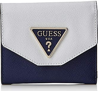 f88c1f2006 Guess Maddy Slg Small Trifold, Porte-monnaie femme, Multicolore (Navy Multi)