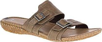 Merrell Womens Whisper Slide Sandal, Taupe, 5 M US