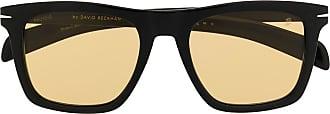David Beckham Óculos de sol quadrado - Preto