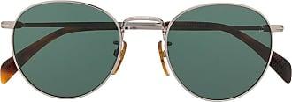 David Beckham DB 1005 round frame sunglasses - SILVER