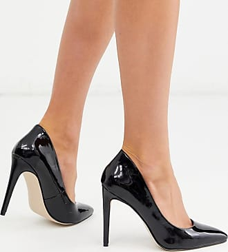 Kurt Geiger high pointed court shoes-Black