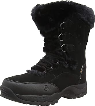 Hi-Tec Womens ST Moritz II 200 Waterproof High Rise Hiking Boots, Black (Black 21), 3.5 (36 EU)
