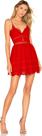X by NBD Pearl Dress in Red
