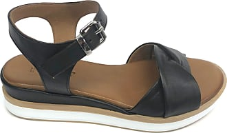 Inuovo 113017 Womens Sports Sandal Leather Black Size: 8 UK