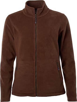 James & Nicholson JN781 Womens Fleece Jacket Brown M