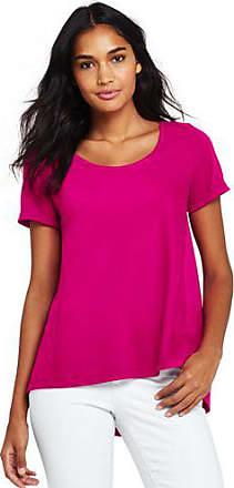 Lands End Shirt mit Ballettausschnitt in Petite-Größe - Pink - 32-34 von Lands End