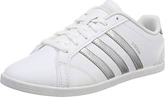 reputable site afba9 69426 adidas Damen VS Coneo QT Fitnessschuhe Weiß PlamatFtwbla 000, ...