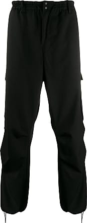 Yohji Yamamoto CL plain cargo trousers - Black
