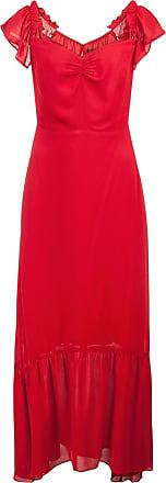 Reformation Vestido longo - Vermelho