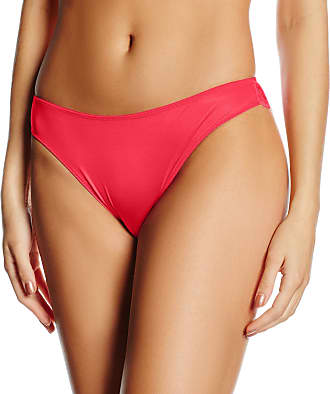 Wonderbra Womens Refined Glamour Brazilian Knickers, Red (Bright Red), 14 (Size:Large)