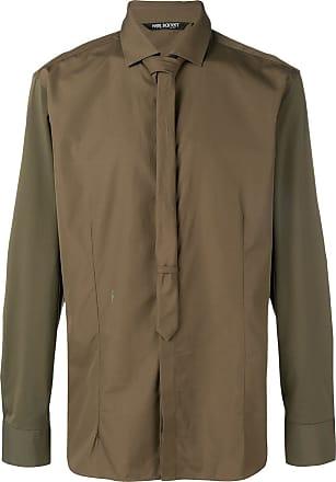 Neil Barrett Camisa mangas longas - Verde