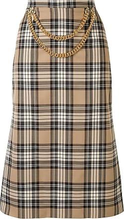 0711 chain detail skirt - NEUTRALS