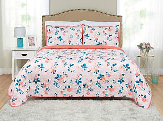 Better Homes & Gardens Blush Floral Quilt Set by Better Homes & Gardens, Size: Full/Queen - 30ZR6 099205