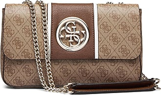 Guess Open Road Cnvrtble Xbody Flap Bags Small Shoulder Bags - Crossbody Bags Brun GUESS